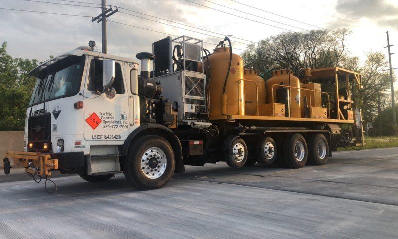 epoxy truck sunset 2